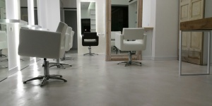 Salone hair stylist Microcemento