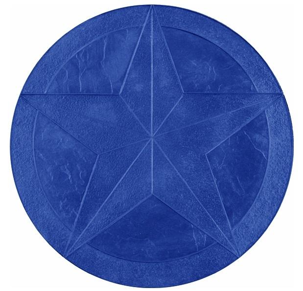 5 POINT STAR MEDALLION