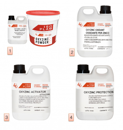 Kit Oxyzinc - pittura effetto zinco