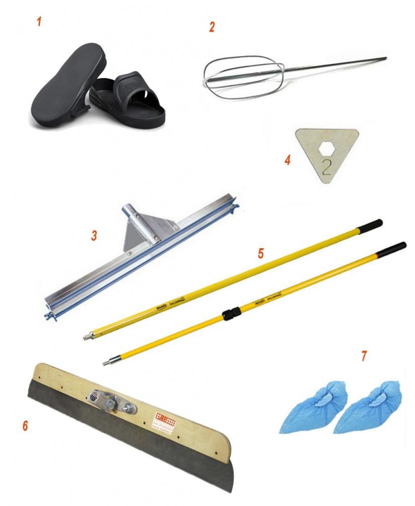 Overlay tools kit