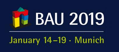 Wij zijn aanwezig op BAU 2019 14-19 januari, München.