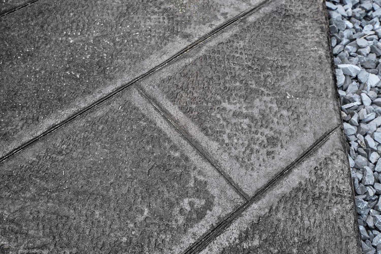 Calcestruzzo Stampato Per Esterni : Pavimentazione esterna in cemento stampato isoplam®