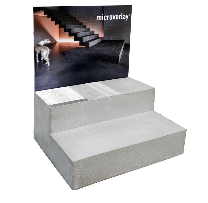 Microverlay® staircase