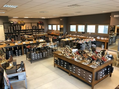 negozio calzature pavimento treviso pavimento calcestruzzo