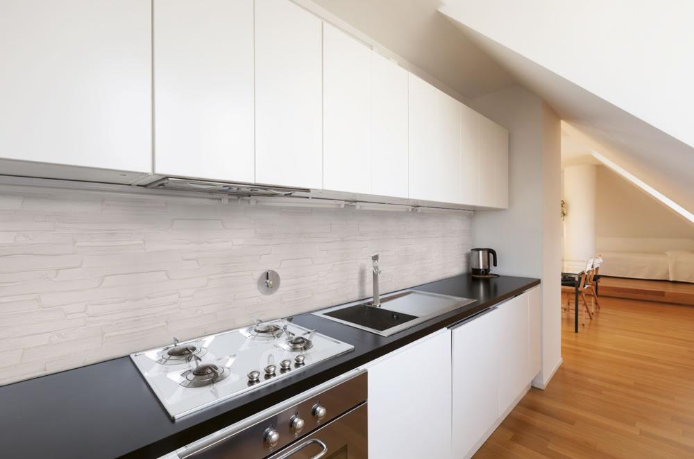 rivestimento cucina effetto pietra : Cucine Moderne Effetto Pietra : Clikad.com Cucine Ernestomeda Moderne ...