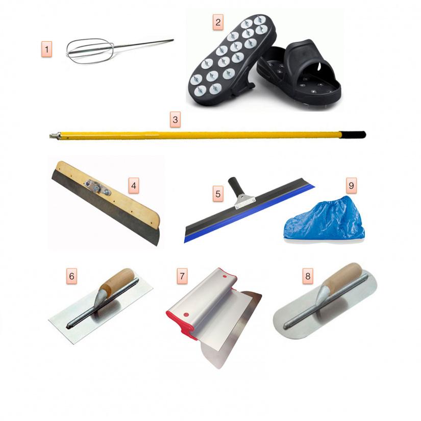 Microverlay and Skyconcrete tools kit