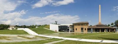 Fondazione La Fornace Asolo Treviso pavimenti calcestruzzo interni