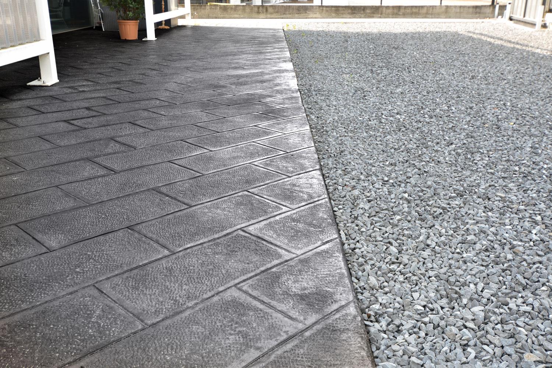 Calcestruzzo Stampato Palermo : Pavimentazione esterna cemento stampato