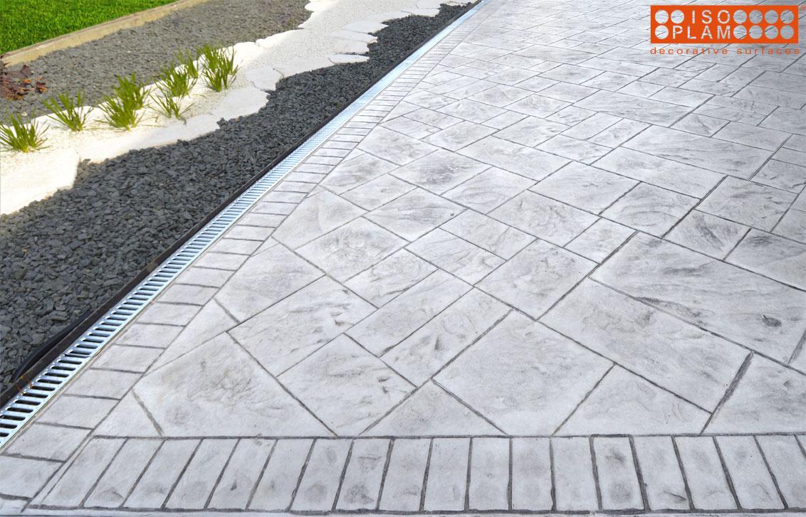 realizzazioni pavimento stampato