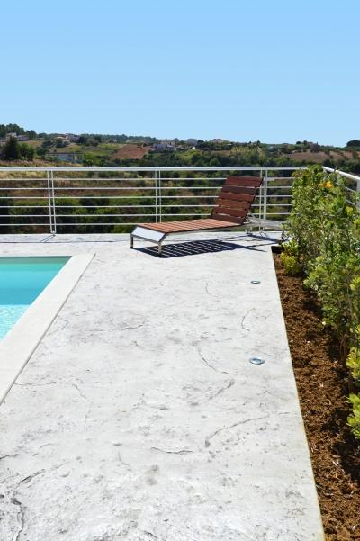 Piscina su terrazza in Puglia nelle città di Lecce, Bari, Altamura, Brindisi, Andria, Cerignola e Manfredonia e Foggia