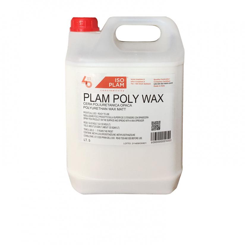 polyurethane water-base wax