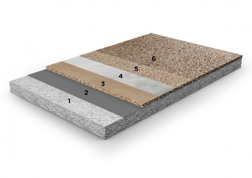 Pavimento architettonico in ghiaino lavato sasso lavato for Pavimento fai da te