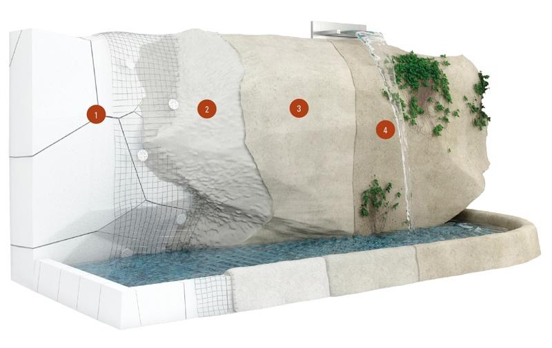 Pietre Da Giardino Prezzo : Rocce artificiali pietre