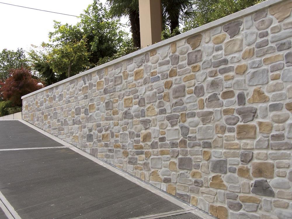 Pannelli in finta pietra per rivestimenti esterni: rivestimento