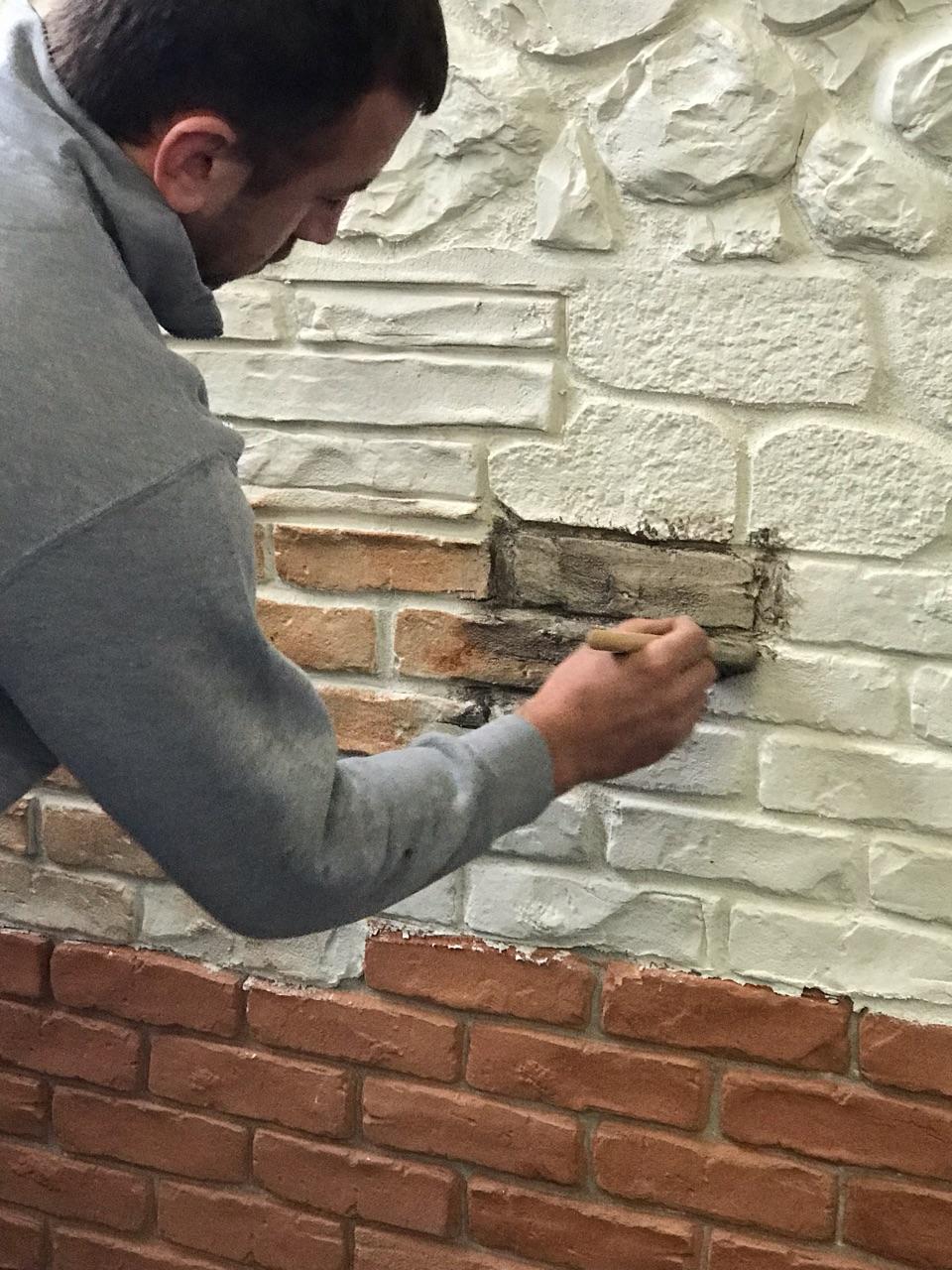 Colorante Per Muro Stampato E Rocce Artificiali